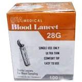 GEA Blood Lancet 28gr Isi 100pcs [NG-AK0009] - Alat Ukur Hemoglobin Darah